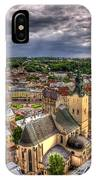 In The Heart Of The City IPhone Case