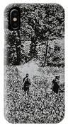 In The Heat Of Battle - Gettysburg Pa IPhone Case