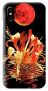 In The Heat Of The Night 2 Honeysuckle Red Moon IPhone Case