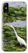 In The Lily Pads IPhone Case