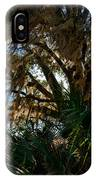 In The Shade Of A Florida Oak IPhone Case