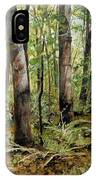 In The Shaded Forest  IPhone Case