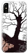 In The Winter Woods IPhone Case