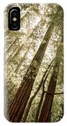 In The Woods 3 IPhone Case