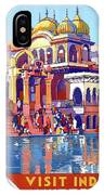 India, Indian State Railway Poster, Muttra IPhone Case
