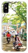 India Street Scene IPhone Case