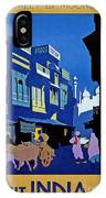 India Travel Poster IPhone Case