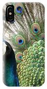 Indian Blue Peacock Puohokamoa IPhone Case
