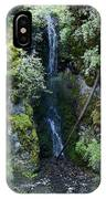 Indian Canyon Waterfall IPhone Case