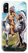 Indian Chiefs IPhone Case