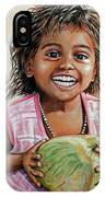 Indian Girl From The Slums IPhone Case