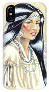 Indian Girl IPhone Case