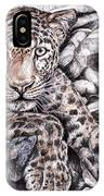 Indian Leopard IPhone Case