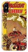 Indian Motorcycle Big Chief 74 IPhone Case