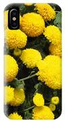 Indian Mums - Yellow Chaamanthi IPhone Case