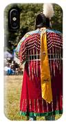 Indian Nation Pow Wow Dancers IPhone Case