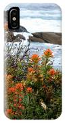 Indian Paintbrush At Point Lobos IPhone Case