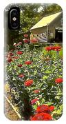 Indian Summer Garden IPhone Case