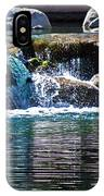 Indian Wells Waterfall IPhone Case