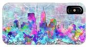 Indianapolis Skyline Watercolor 5 5 IPhone Case