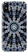 Indigo Flow Blue Kaleidoscope IPhone Case