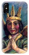 Indian Angel IPhone Case