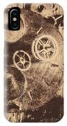 Industrial Gears IPhone Case