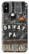Industrial Workhorse IPhone Case