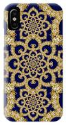 Infinite Lily In Navy IPhone Case