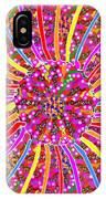 Infinity Star Flower An Abstract Fineart Expression By Navinjoshi At Fineartamerica.  Colorful Fun IPhone Case