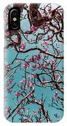 Infrared Frangipani Tree IPhone Case