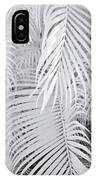 Infrared Palm Abstract IPhone X Case