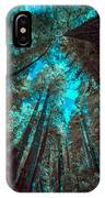 Infrared Redwood IPhone Case