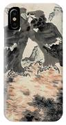 Ink Painting Eagle IPhone Case