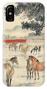 Ink Painting Horse IPhone Case