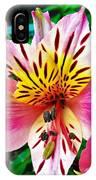 Inner Flower Of A Goddess IPhone Case