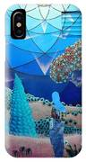 Inner Space-art On A Wall.  IPhone X Case