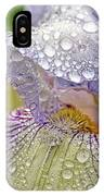 Inside A Bearded Iris IPhone Case