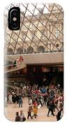 Inside Louvre Museum Pyramid IPhone X Case