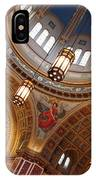 Inside Saint Matthew's Cathedral -- At An Angle IPhone Case