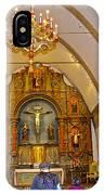 Inside Sanctuary At Carmel Mission-california  IPhone Case