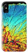 Insulin Crystals Light Micrograph IPhone Case