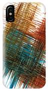 Intensive Abstract Painting 710.102610 IPhone Case