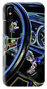 Interior Of A Classic Vintage Car IPhone Case