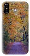 Into Fall IPhone Case
