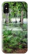 Into The Green Swamp IPhone Case
