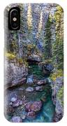 Into The Heart Of Maligne Canyon IPhone Case