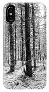Into The Monochrome Woods IPhone X Case
