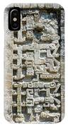 Intricate Details Of Mayan Ruins IPhone Case
