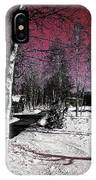 Invernal Landscape IPhone Case